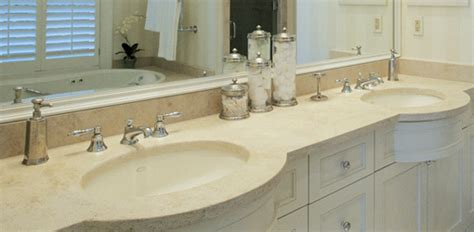 Bathroom Vanity Countertop Materials by Bathroom Vanity Countertop Options Today S Homeowner