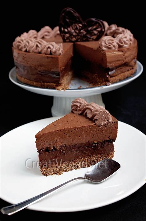 tarta 4 chocolates creativegan net
