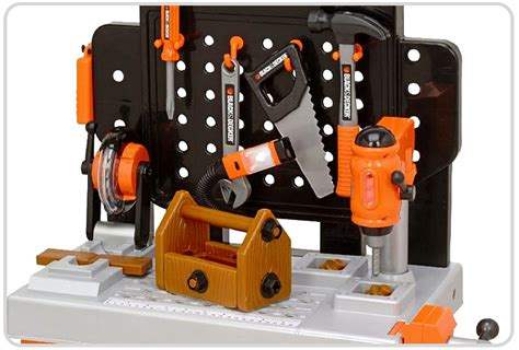 kids black and decker tool bench black and decker junior power tool workshop