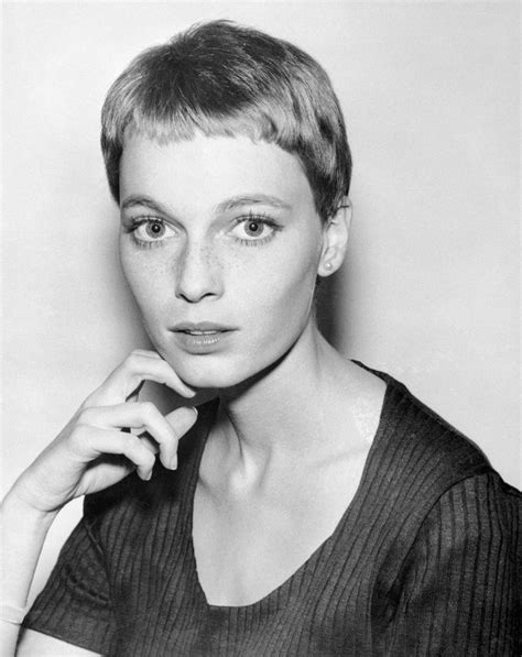 mia farrow haircut mia farrow 1965 photo bettman corbis 26 of the best