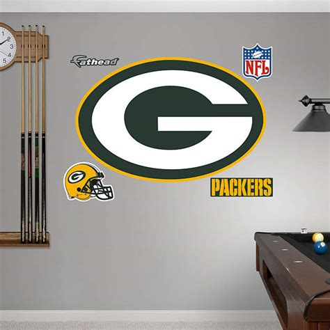 green bay packers wall stickers 1 877 328 8877