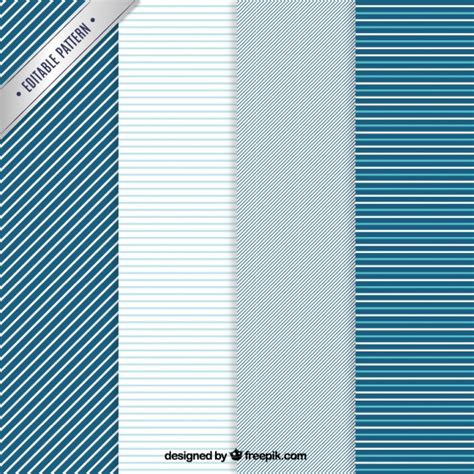 ai pattern stripe striped patterns in blue tones vector free download