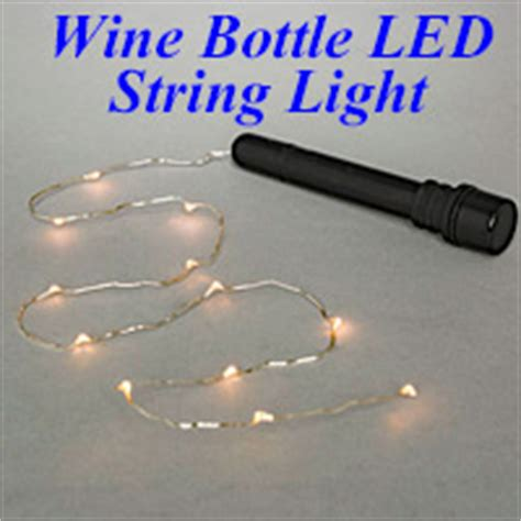 wine bottle battery operated lights centerpiece supplies and decorations lighting