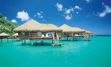 overwater bungalow royal huahine resort tahiti com