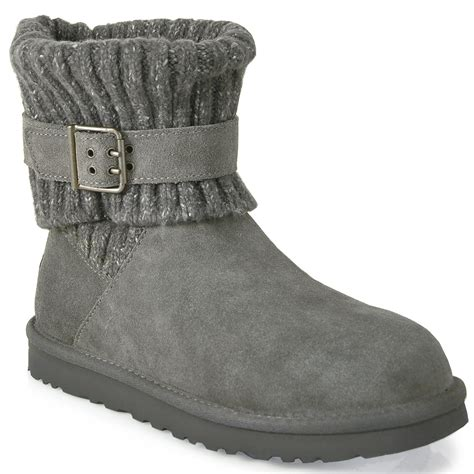 grey ugg boots for lyst ugg boot in gray