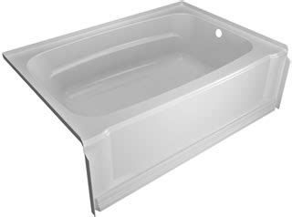 aqua glass bathtub eleganza 60 quot x32 quot bathtub l by aqua glass