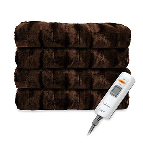 electric blanket bed bath and beyond sunbeam 174 heated throw blanket bed bath beyond