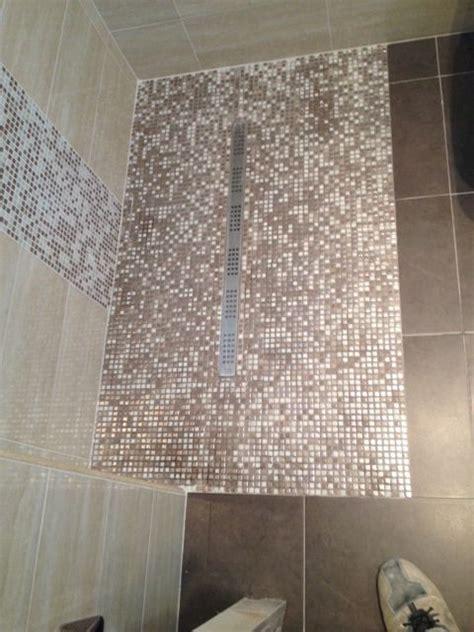 doccia a pavimento mosaico piatto doccia a pavimento in mosaico ristrutturazioni by