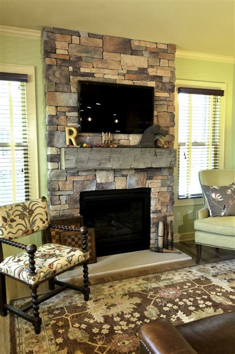gas log fireplace mantel drystack cultured a reclaimed barn beam mantle and