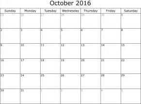 october calendar planner