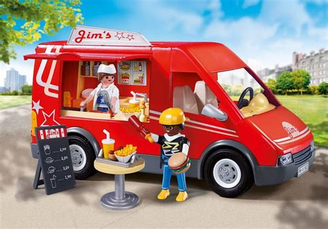 Country House Design city food truck 5677 playmobil 174 usa
