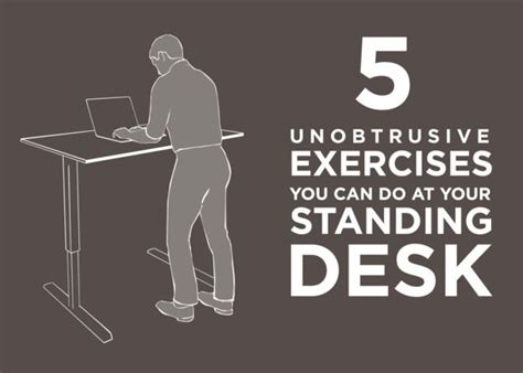 exercise while standing at desk 1000 images about office workouts on pinterest office
