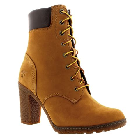 timberland boots for womens high heels womens timberland earthkeepers glancy 6 inch nubuck ankle