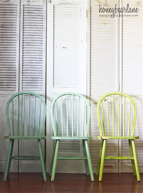 ombre chairs honeybear