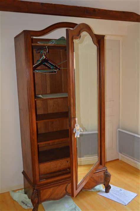 armoire à glace ancienne armoire ancienne glace clasf