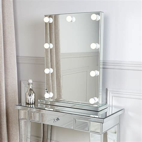 vanity mirror led light bulbs dressing table vanity mirror with 9 dimmable led