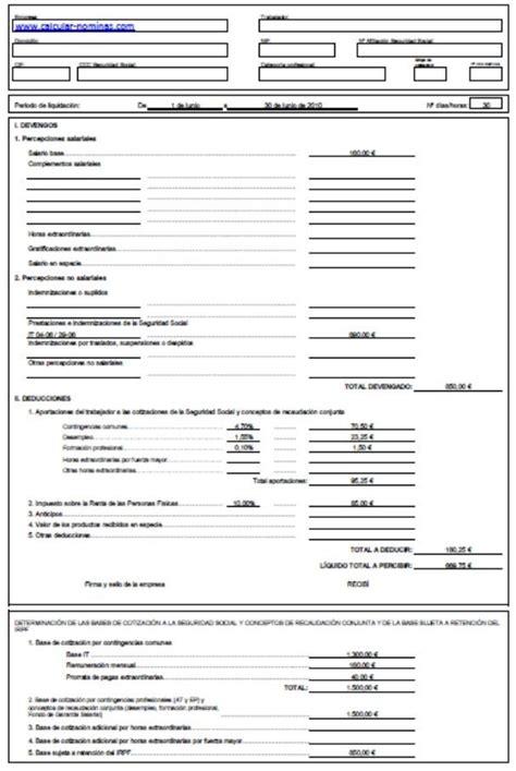 plantilla nomina word confecci 243 n n 243 minas excel opiniones precios y demo