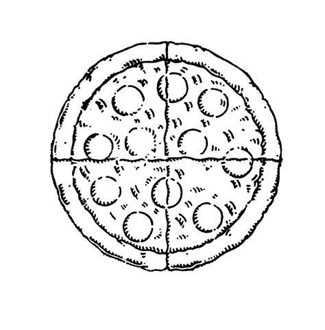pizza clipart black and white pizza black and white cliparts co