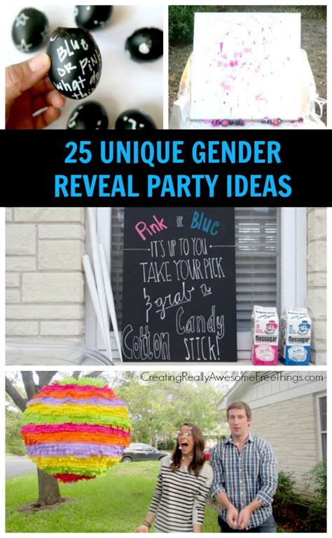Gender Reveal Decorations 25 gender reveal ideas c r a f t