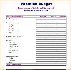 Vacation Planner Template by Vacation Planner Templatememo Templates Word Memo