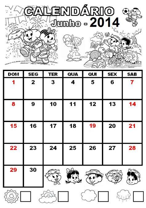 Calendario R 2014 Alfabetiza 199 195 O Calend 225 De 2014 Turma Da M 244 Nica