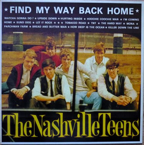 the nashville find my way back home vinyl lp at