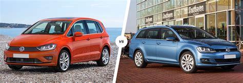 volkswagen family car vw golf sv vs golf estate family car fight carwow