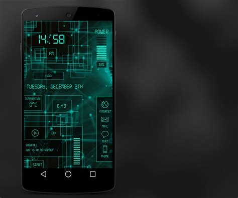 gallery themes for android green tech android theme by homebridge on deviantart