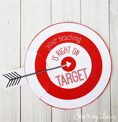 Free Target Gift Card - printable teacher appreciation gift card holder skip to my lou