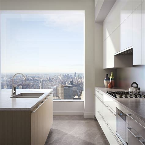 Kitchen View by Views From Top Of 432 Park Avenue Business Insider