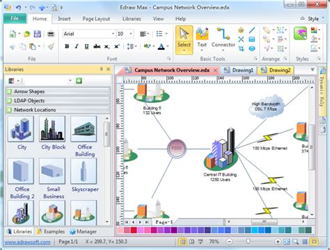 network diagram free software image gallery network map software