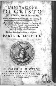 imitazione di cristo testo l imitazione di cristo in ed in italiano giusta