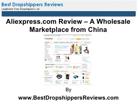 aliexpress review a wholesale marketplace from china