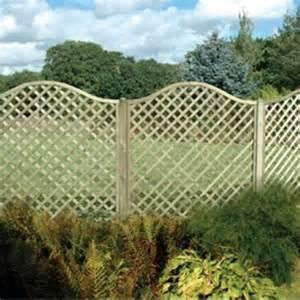 Lattice Trellis Fence Panels Omega Lattice Arched Trellis Fence Panel 1 8m From Wooden
