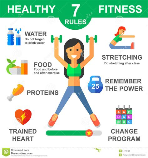 sport fitness a guide to a healthier lifestyle books of healthy lifestyle stock vector illustration of