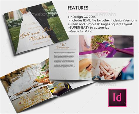 free wedding brochure templates 24 wedding brochure template free