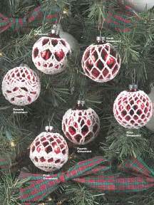 winter crochet patterns elegant ornaments