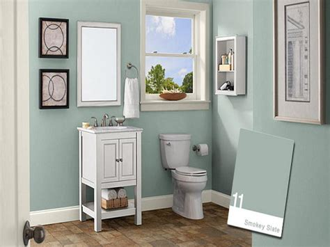 Blue Bathroom Color Schemes by Bathroom Wall Paint Colors Newhow To Choose Paint Colors