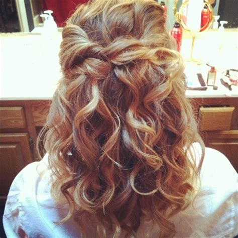 cute hair styles with the ends curled 17 best images about cute hair styles on pinterest long