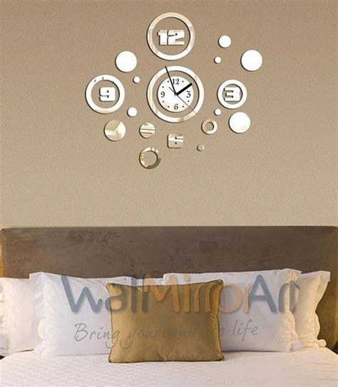 wall mirrors decorative living room big mirror wall clock decorative home and living room