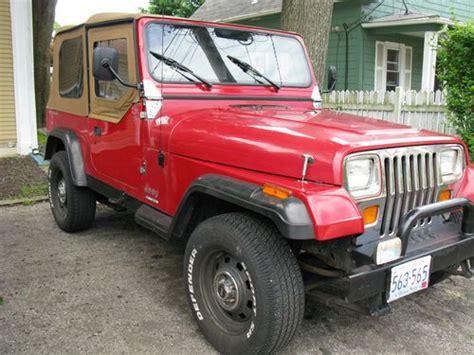 1988 Jeep Wrangler Yj Find Used Jeep Wrangler Yj 1988 In West Warwick Rhode