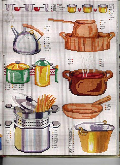 punto croce cucina schemi gratis cucina pentole bollitore magiedifilo it punto croce