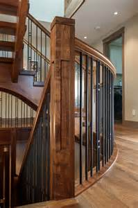 Outdoor Stairs Handrail Walnut Stair Craftsman Staircase Other Metro By