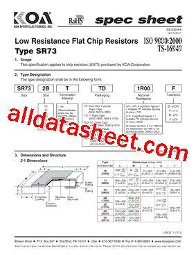 koa resistor datasheet koa resistor datasheet 28 images cn1f8kttd datasheet pdf koa speer electronics inc koa mos