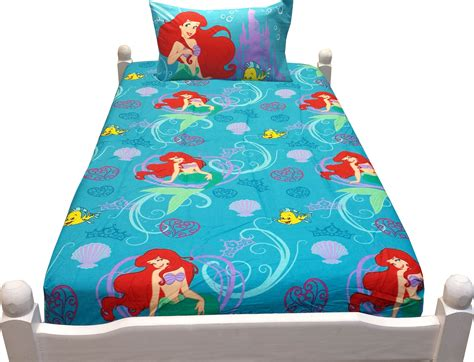 little mermaid twin bedding disney little mermaid twin bed sheets 3pc ariel princess