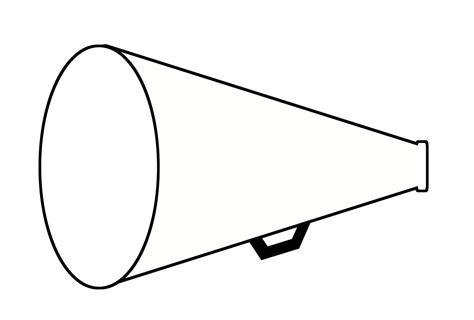 megaphone clipart megaphone outline clip 32
