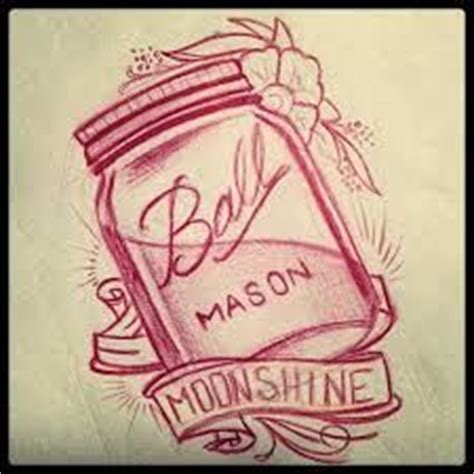 moonshine tattoo 1000 ideas about jar on tattoos
