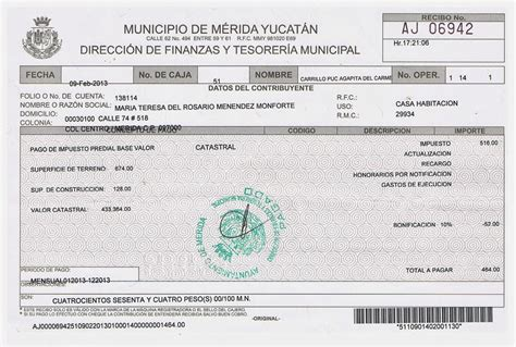 Imprimir Recibo Pago Predial Zapopan | predial zapopan recibo recibo pago predial zapopan new