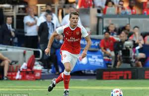 arsenal xhaka goal arsenal 2 1 mls all stars chuba akpom nets close range