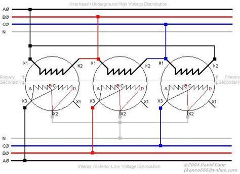 wye delta transformer wiring diagram wiring diagram with